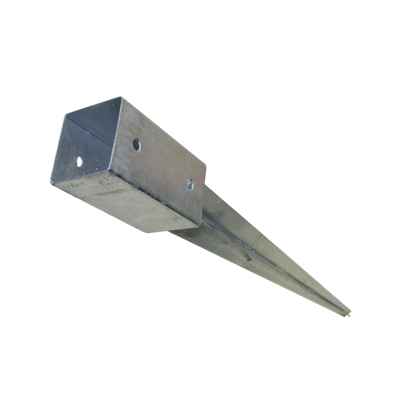 91 mm Einschlaghülse GAH Pfostenträger Einschlagbodenhülse 71 mm