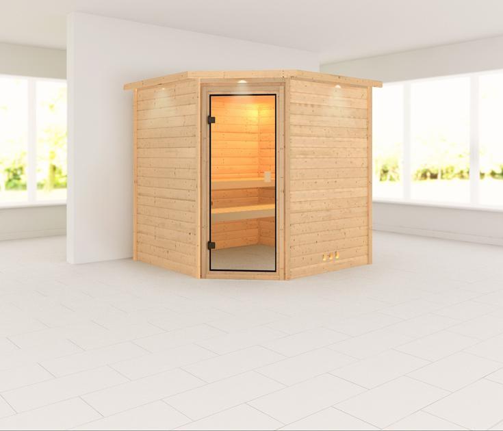 Sauna LUCIE 1,96 x 1,96 m