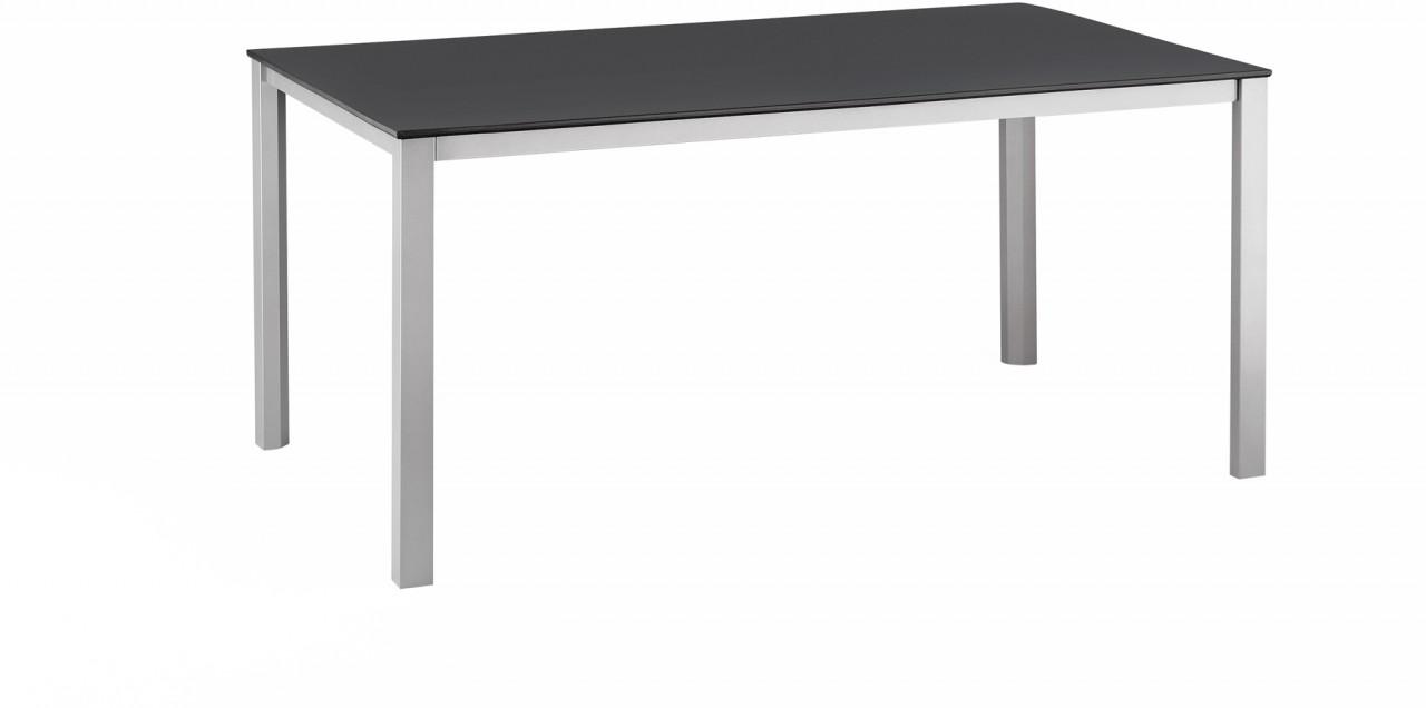KETTALUX Tisch 160 x 95 cm silber/anthrazit