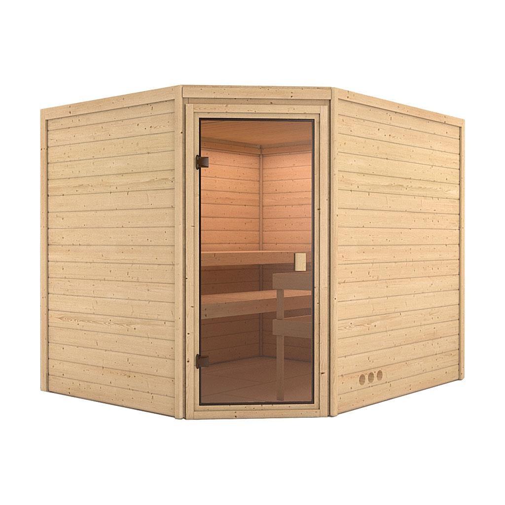 Sauna LEAH 2,31 x 1,96 m