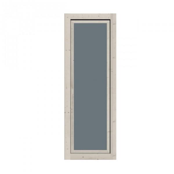 Gartenhaus Fenster für CUBE elfenbeinweiß