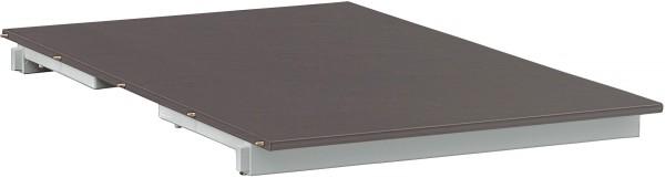 KETTALUX Einlegeplatte 60 cm silber/anthrazit