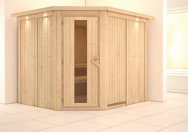 Sauna MALIN 2,31 x 1,96 m