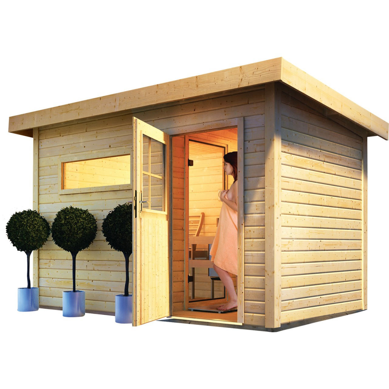gartensauna preisvergleich garten26 garten. Black Bedroom Furniture Sets. Home Design Ideas
