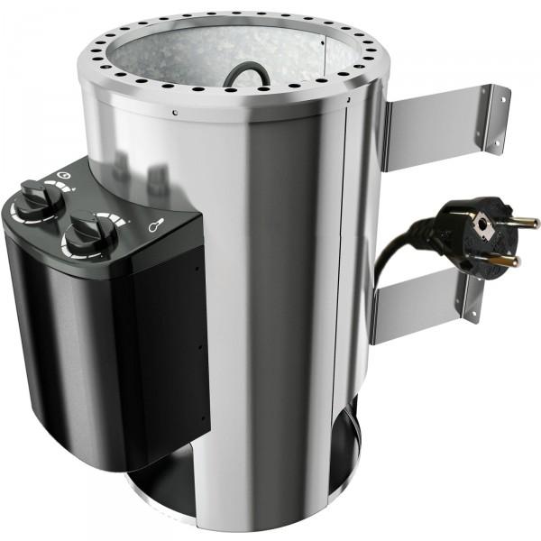 saunaofen 230 volt plug play 3 6 kw mit integrierter steuerung. Black Bedroom Furniture Sets. Home Design Ideas