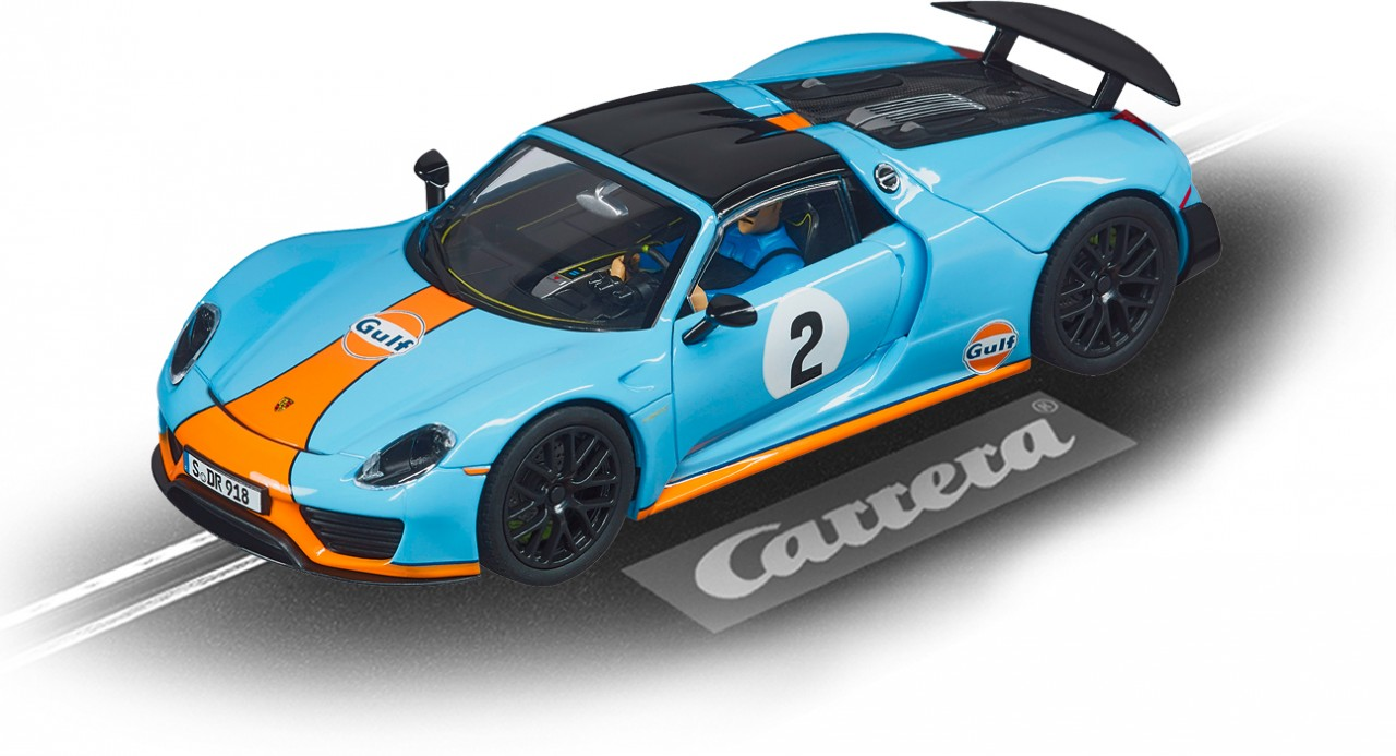 Auto Evolution PORSCHE 918 SPYDER GULF RACING NO.02