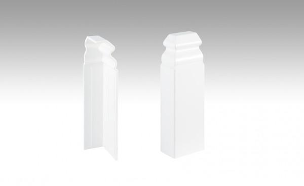 Endkappe (selbstklebend) Weiß 2001