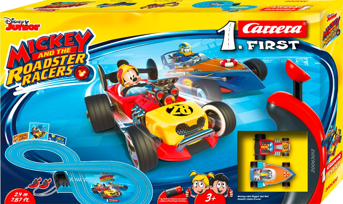 Rennbahn FIRST MICKEY AND THE ROADSTER RACERS 1