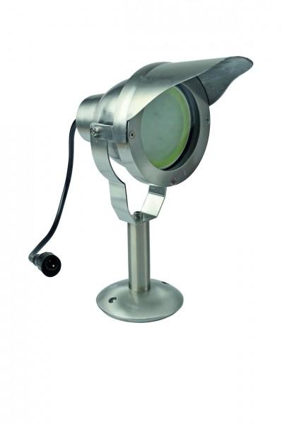 Terrassenstrahler LED DESIGN ALU MR 30 10 W, warmweiß