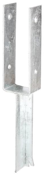 U-Pfostenträger mit Betonanker aus T-Eisen