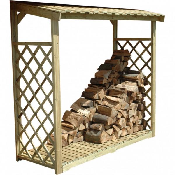 Kaminholzregal für 2,2 m³ Brennholz Kiefer KDI