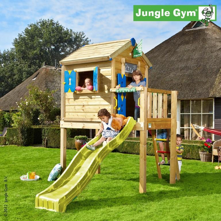 Jungle Gym  Spielhaus PLAYHOUSE L  Gelb DH379