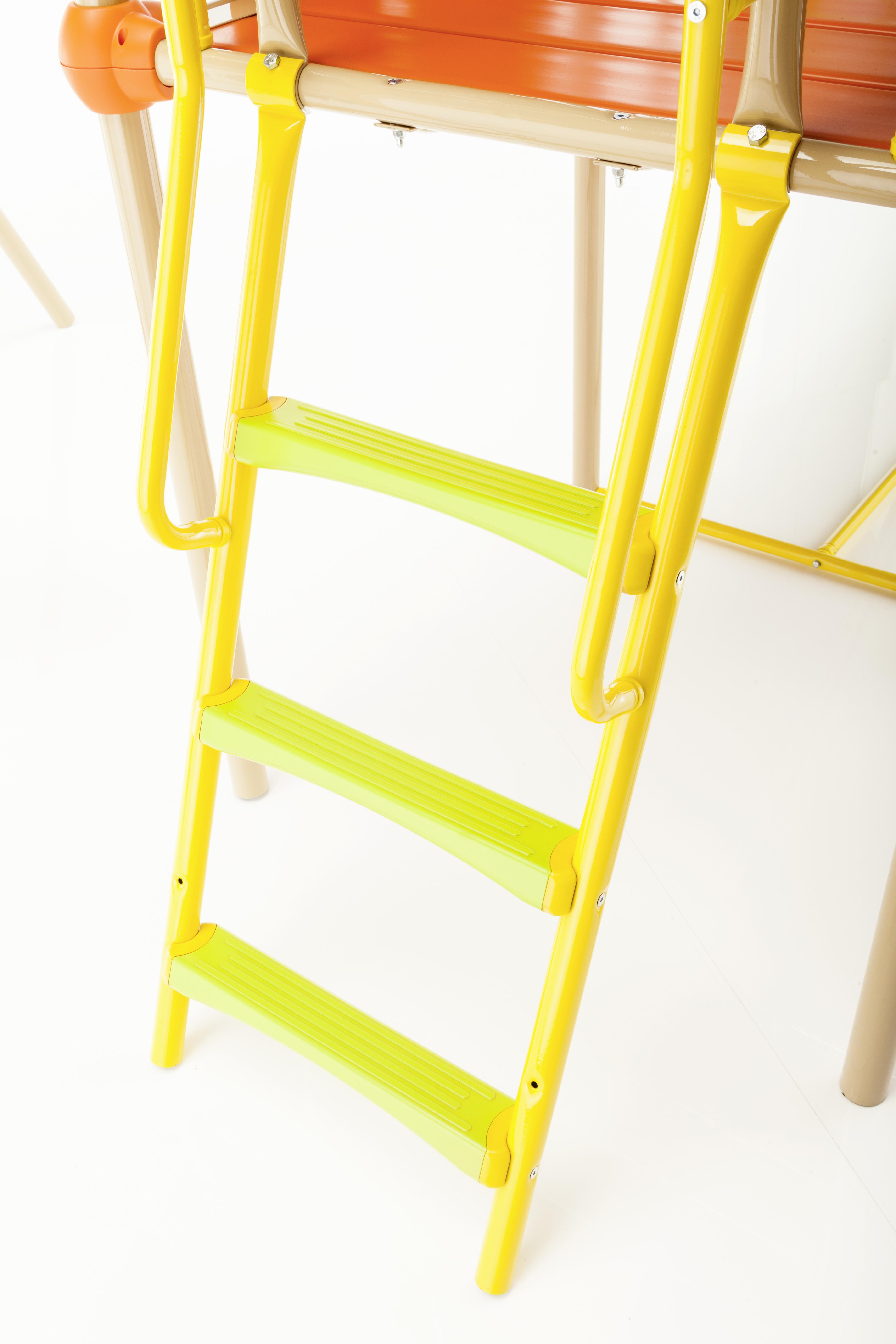 kettler spielturm mia mit rutsche kletterturm spielhaus ebay. Black Bedroom Furniture Sets. Home Design Ideas