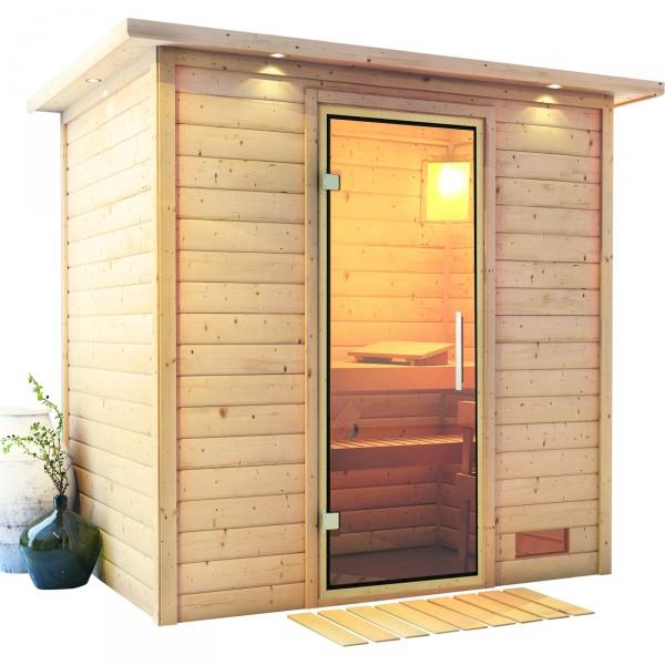 Sauna SONJA 2,24 x 1,60 m