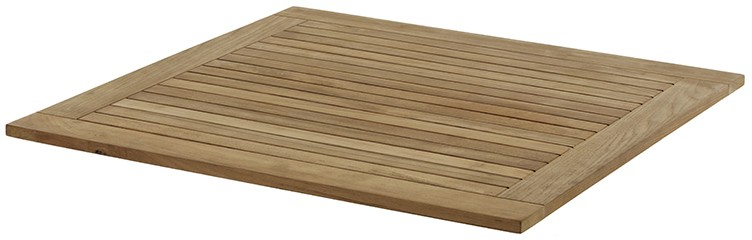 Gartentisch Tischplatte MONZA Teak 90 cm