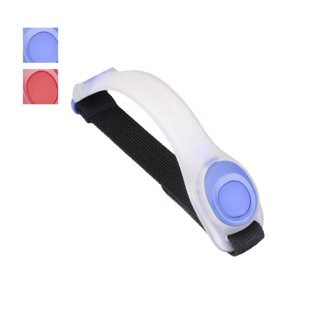 LED Armband SAFETY LIGHT Leuchtarmband - Blau