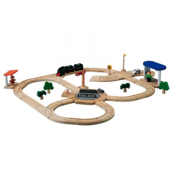 PlanCity Eisenbahn + Straßenset
