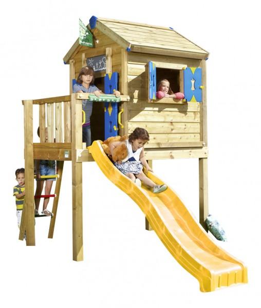 jungle gym spielhaus playhouse l spielturm auf stelzen mit. Black Bedroom Furniture Sets. Home Design Ideas