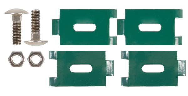 Eckverbinder für Doppelstab-Gittermatten