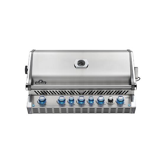 Erdgasgrill PRESTIGE PRO™ 665 RB Edelstahl Einbau-Grilllaufsatz