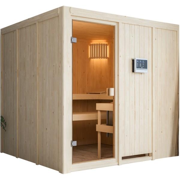 Sauna OULU 1,96 x 1,96 m