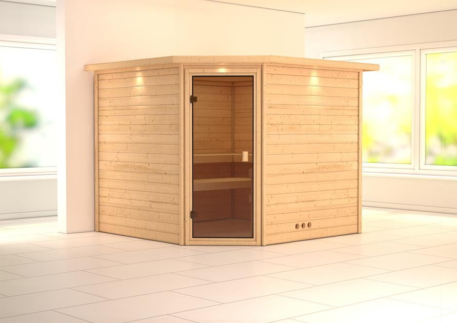 Sauna DONAN 2,31 x 2,31 m