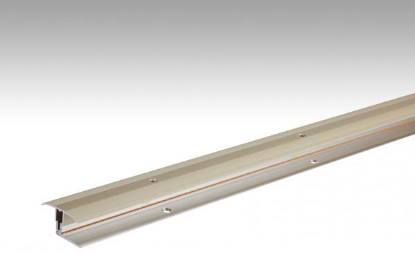 Übergangsprofil Flexo Typ 302 (7 bis 17 mm) Sand eloxiert 230