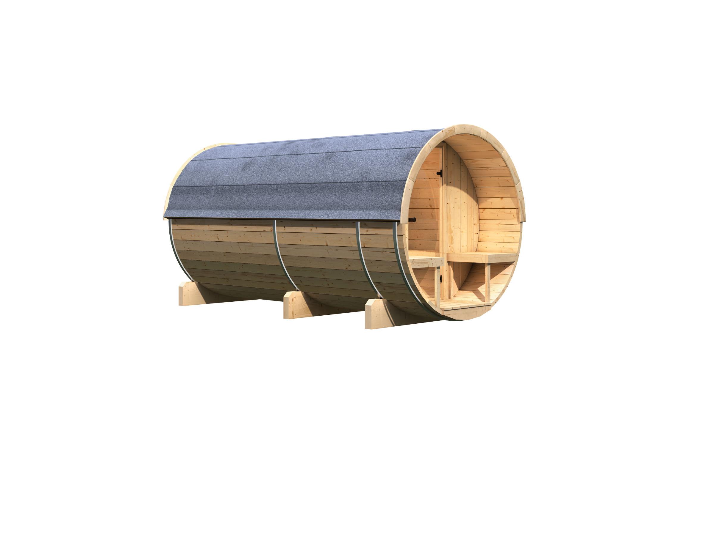 Karibu Fass-Sauna 4