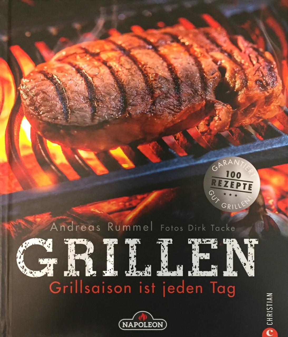 Grillbuch: Grillsaison ist jeden Tag