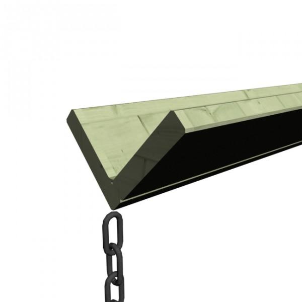Dachrinne Verlängerungspaket 2 m kdi
