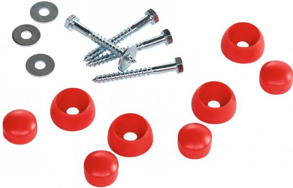 Montageset für Metallreckstange