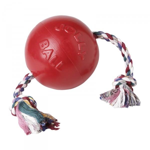 Hundespielzeug ROMP-N-ROLL Rot