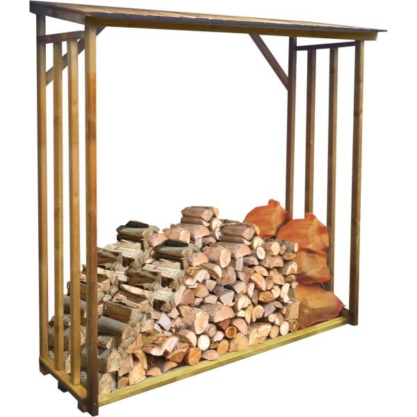 Kaminholzregal für 2,1 m³ Brennholz Kiefer KDI
