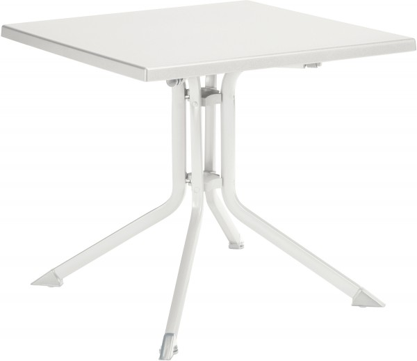KETTALUX Klapptisch 80x80 cm weiß/weiß