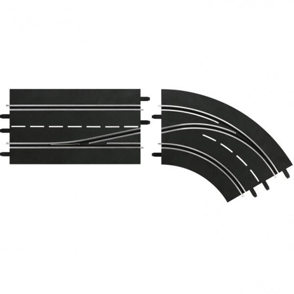 Digital 124/132 Spurwechselkurve rechts Innen nach Außen
