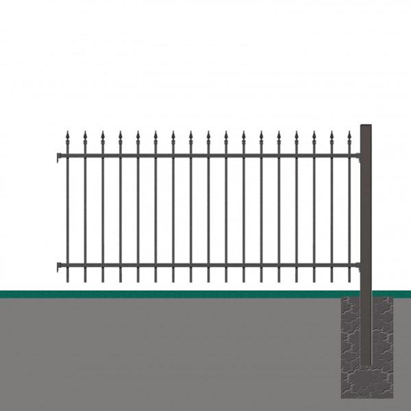 Vorgartenzaun Anbau-Set CHAUSSEE