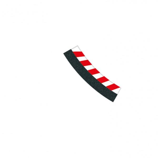 Digital 124/132 6 Innenrandstreifen Kurve 3/30°, 2 Endstücke
