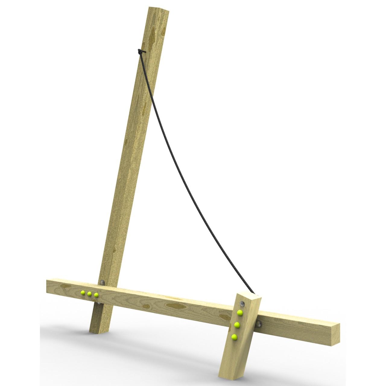 Spielgerät SAIL Schwebebalken EN 1176