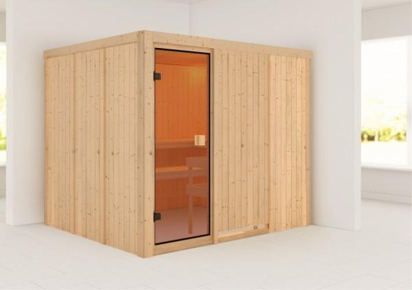 Sauna NYBRO 2,31 x 1,96 m