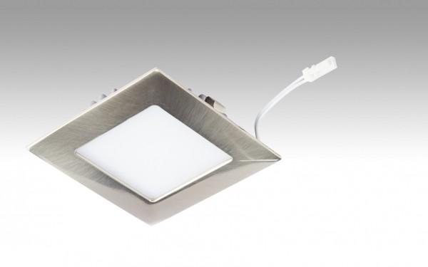 NV-LED-Downlight Big Shot-Quadro | 7,5 Watt Edelstahl 238