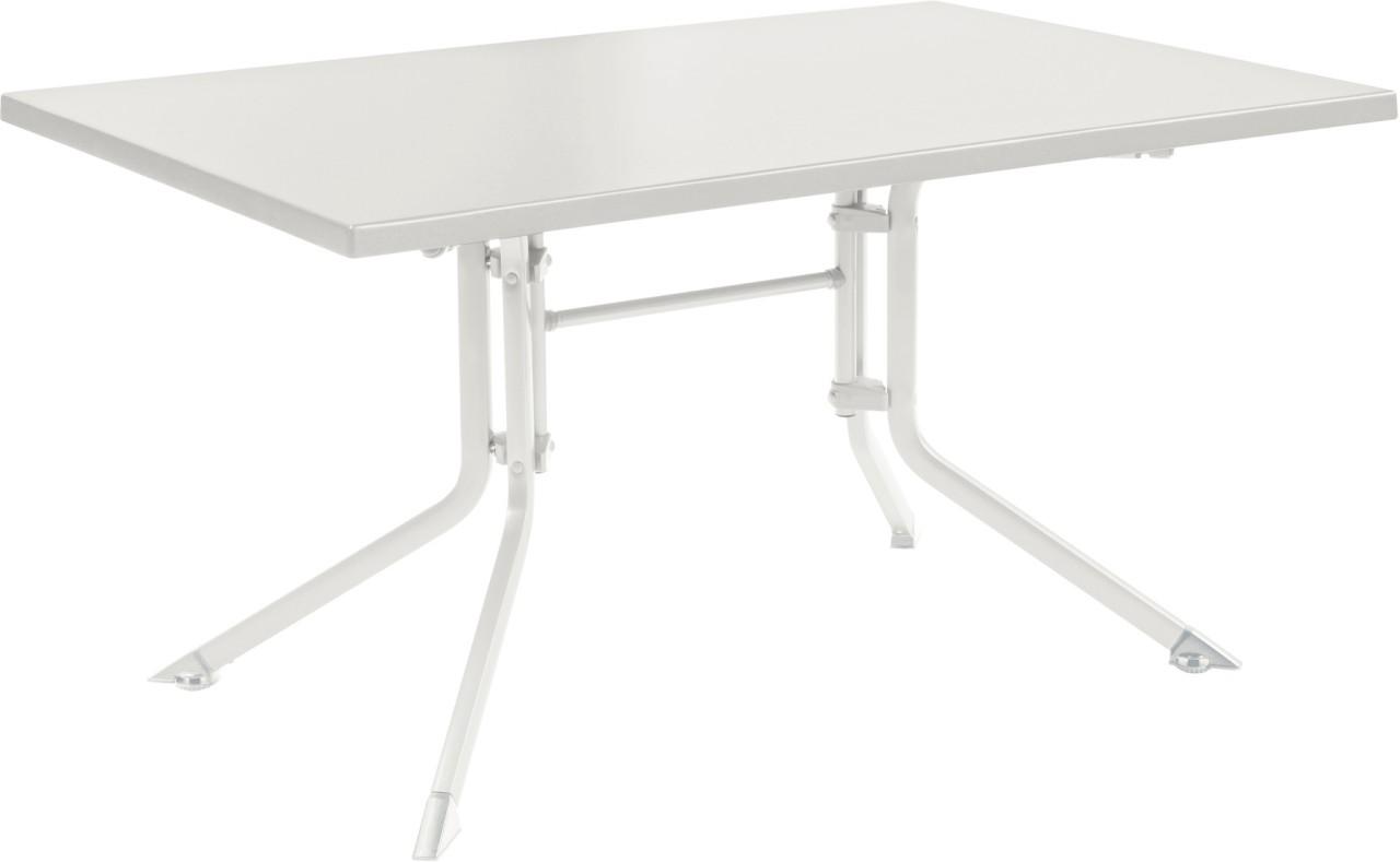 KETTALUX Klapptisch 140 x 95 cm weiß/weiß