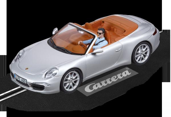 Auto EVOLUTION PORSCHE 911 CARRERA S CABRIOLET silber