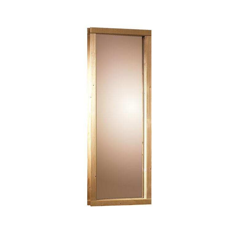 Sauna Fenster 68 mm 43 x 185 cm