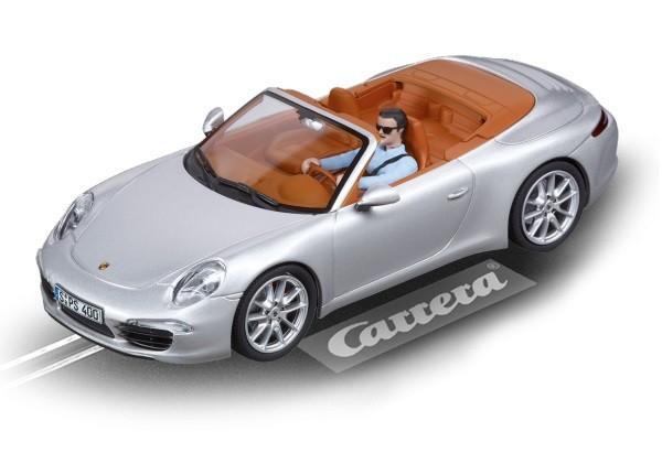 Auto Digital 132 PORSCHE 911 CARRERA S CABRIOLET silber