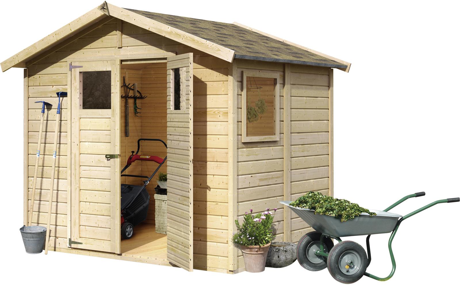 gartenhaus dalin 1 14 mm 2 45 x 1 8 m. Black Bedroom Furniture Sets. Home Design Ideas