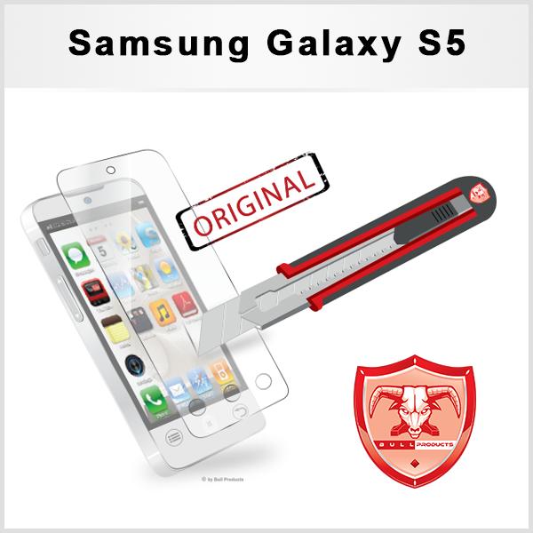 5 x Displayschutzfolie Samsung Galaxy S5 Panzerglas