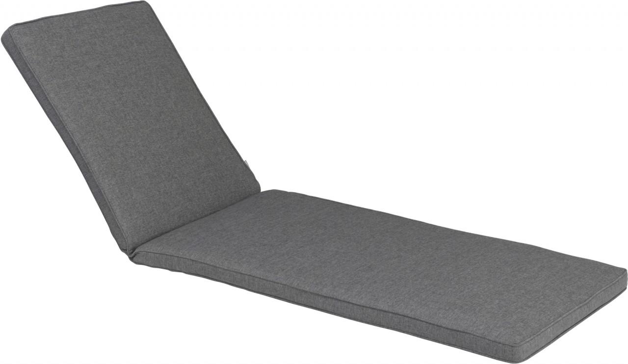 Geflechtauflage DESSIN 837 für Liege Bistro grau
