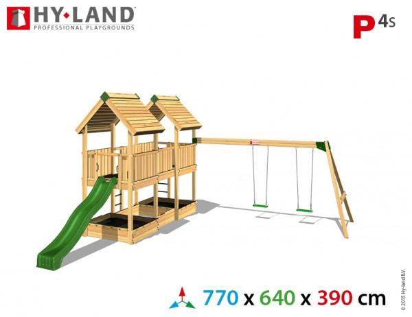 Spielplatzgerate:_Spielturm_mit_Schaukel_und_Rutsche_P4s