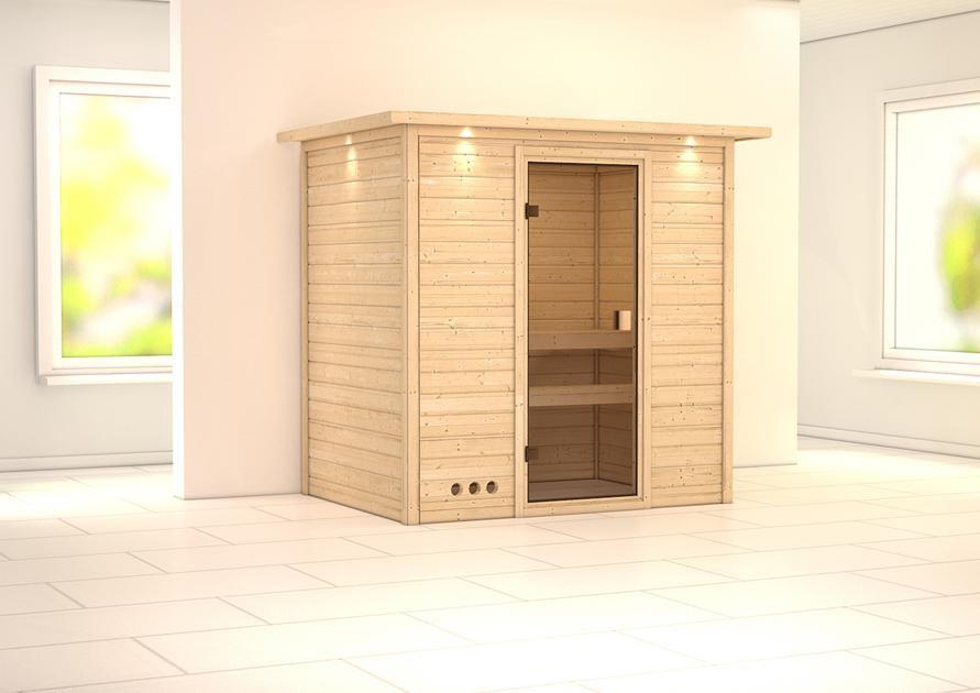 Sauna SAMIRA 1,96 x 1,46 m