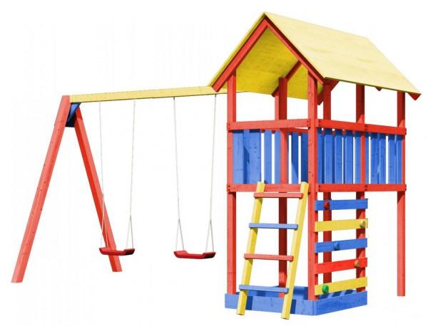 spielturm danny farbe mit kletterwand schaukel. Black Bedroom Furniture Sets. Home Design Ideas